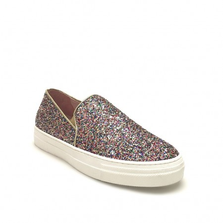Slip on glitter multicolor