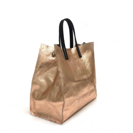 Shopper laminata rame